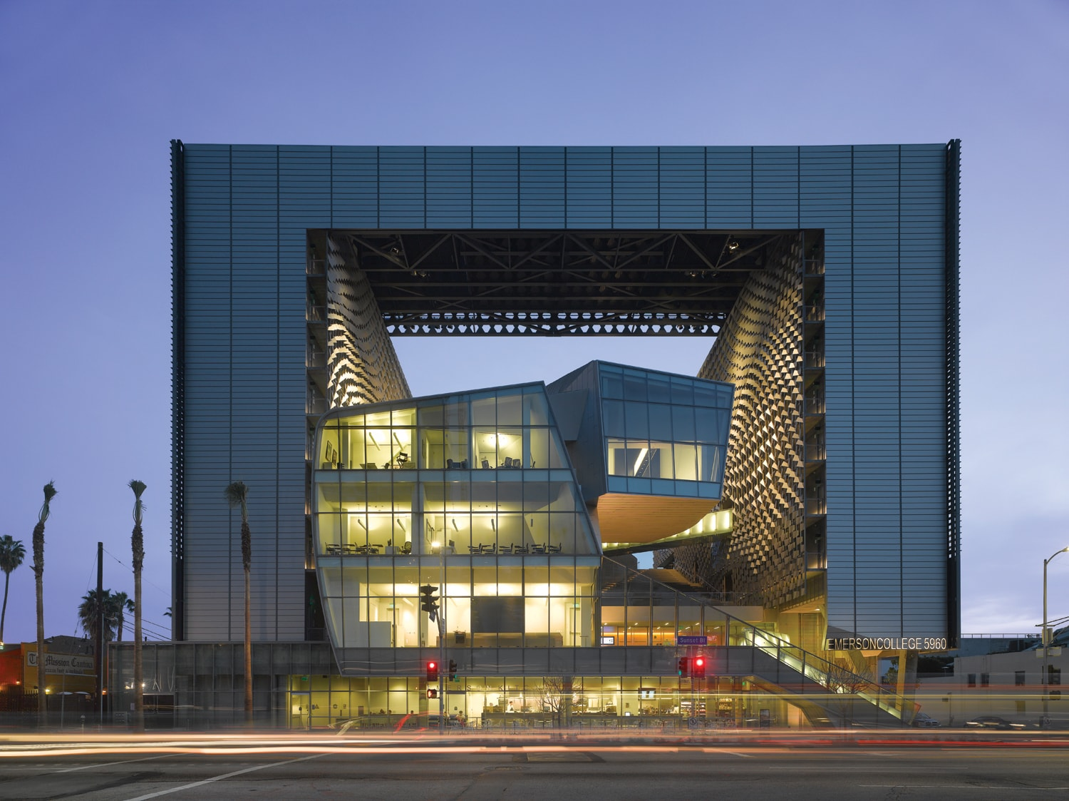 Emerson College Los Angeles Wallace Engineering