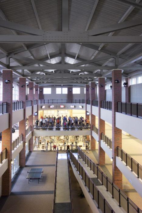 Colvin Recreation Center Renovation Wallace Engineering
