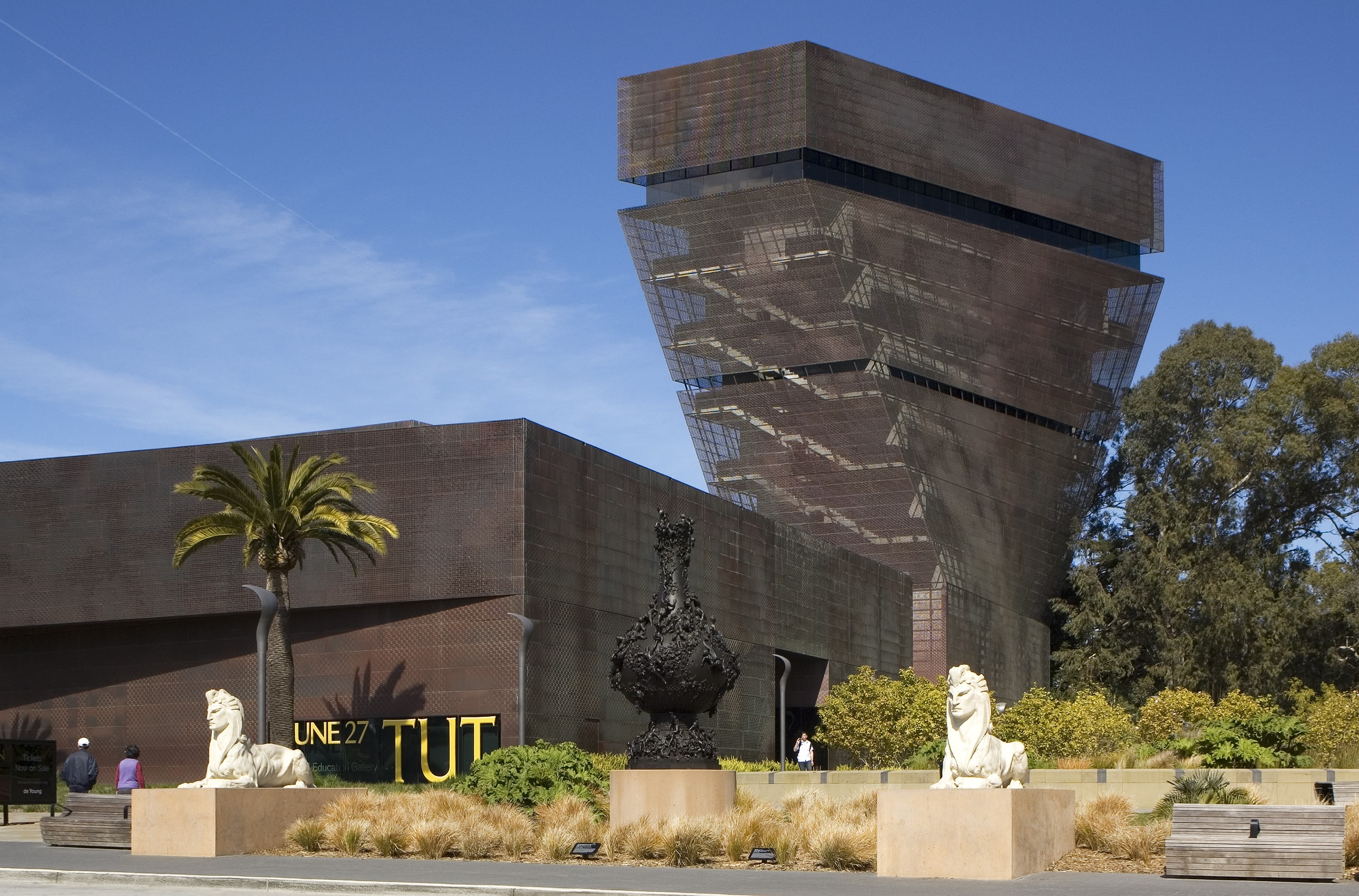 How Much To Drive >> de Young Museum - Wallace Engineering